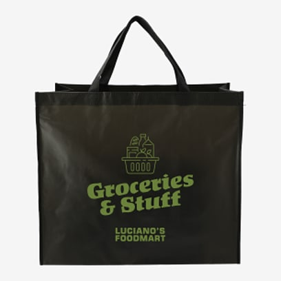 Double Laminated Wipeable Jumbo Tote