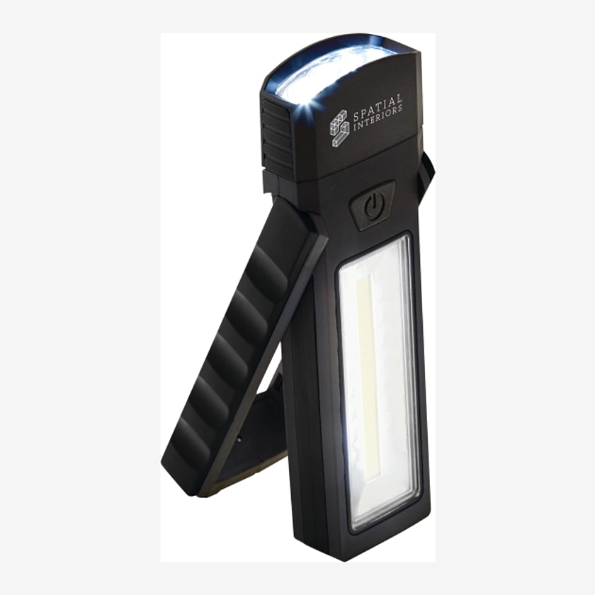 COB Magnetic Worklight with Torch and Stand