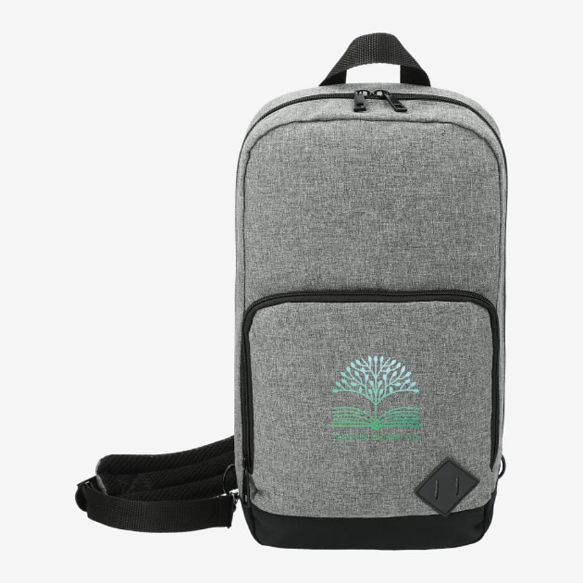 Graphite Deluxe Recyclced Sling Backpack