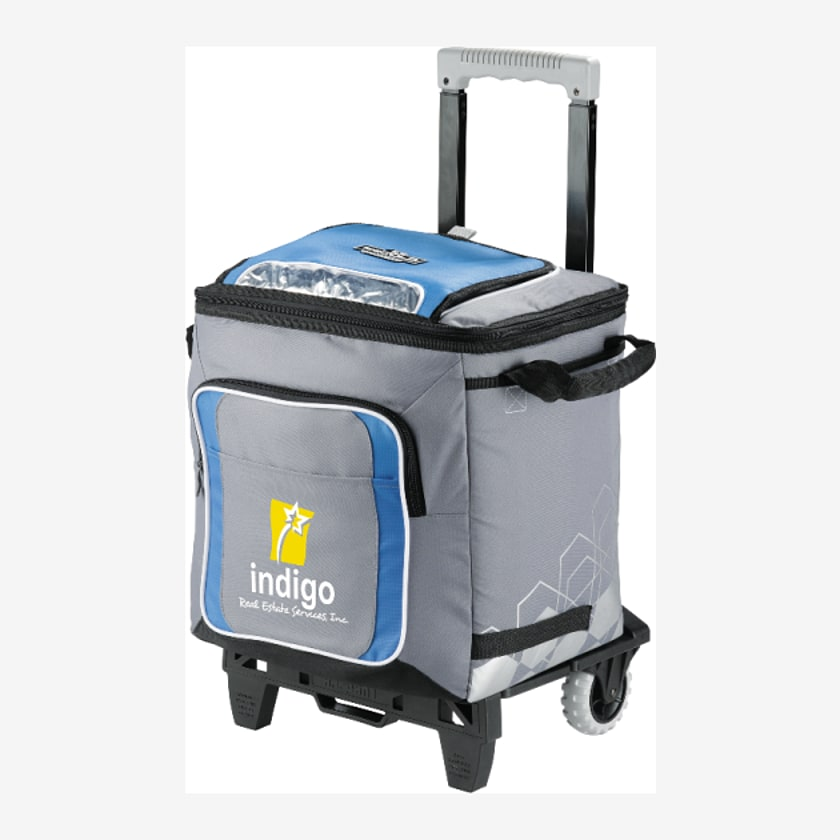 Arctic Zone Insulated 58 Can Rolling Cooler with AT Cart