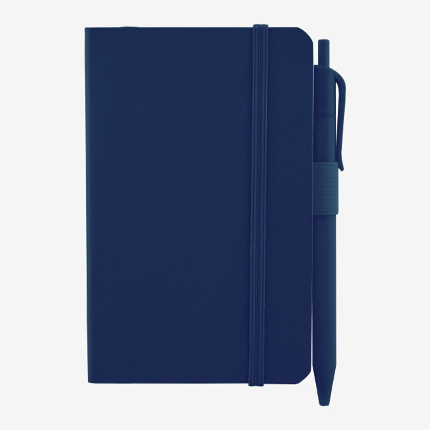 """3.5"""" x 5.5"""" Hue Soft Pocket Notebook with Pen"""