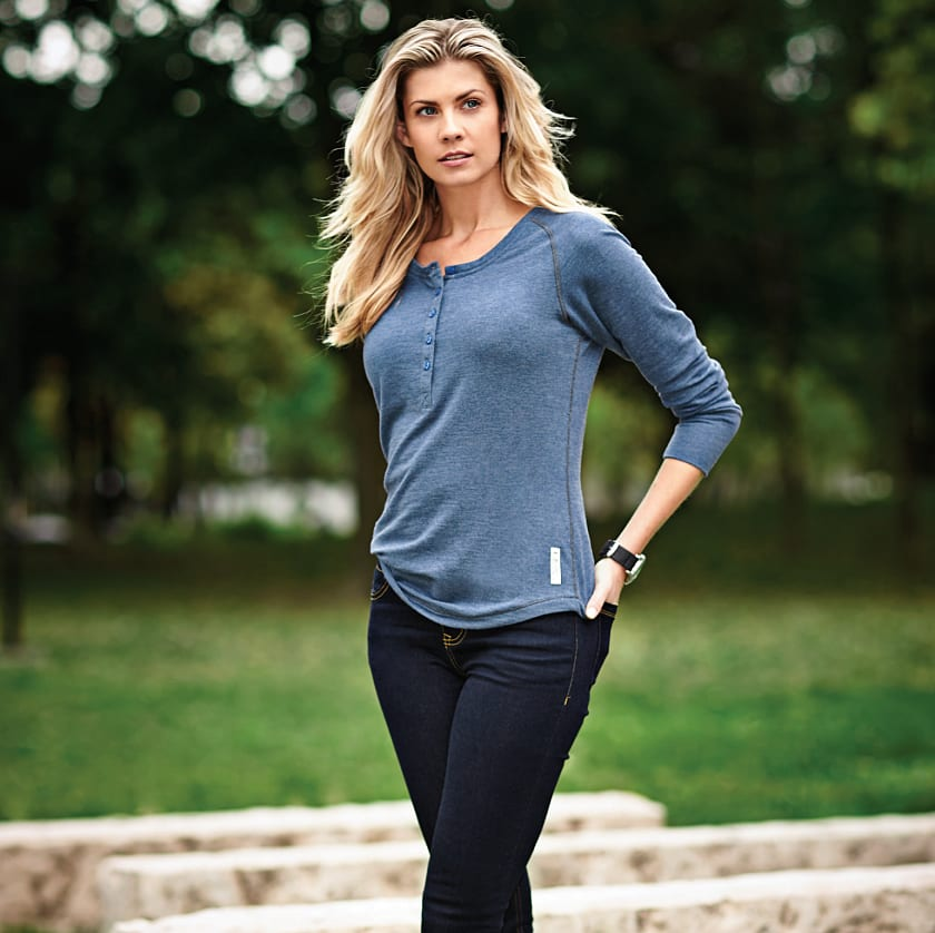 Women's Riverrock Roots73 Henley